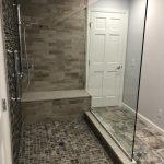 completed bathroom shower 2